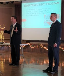 BCPO Assistant Prosecutor Brian Faulk & MTPD Detective Ken Allen during opening remarks.